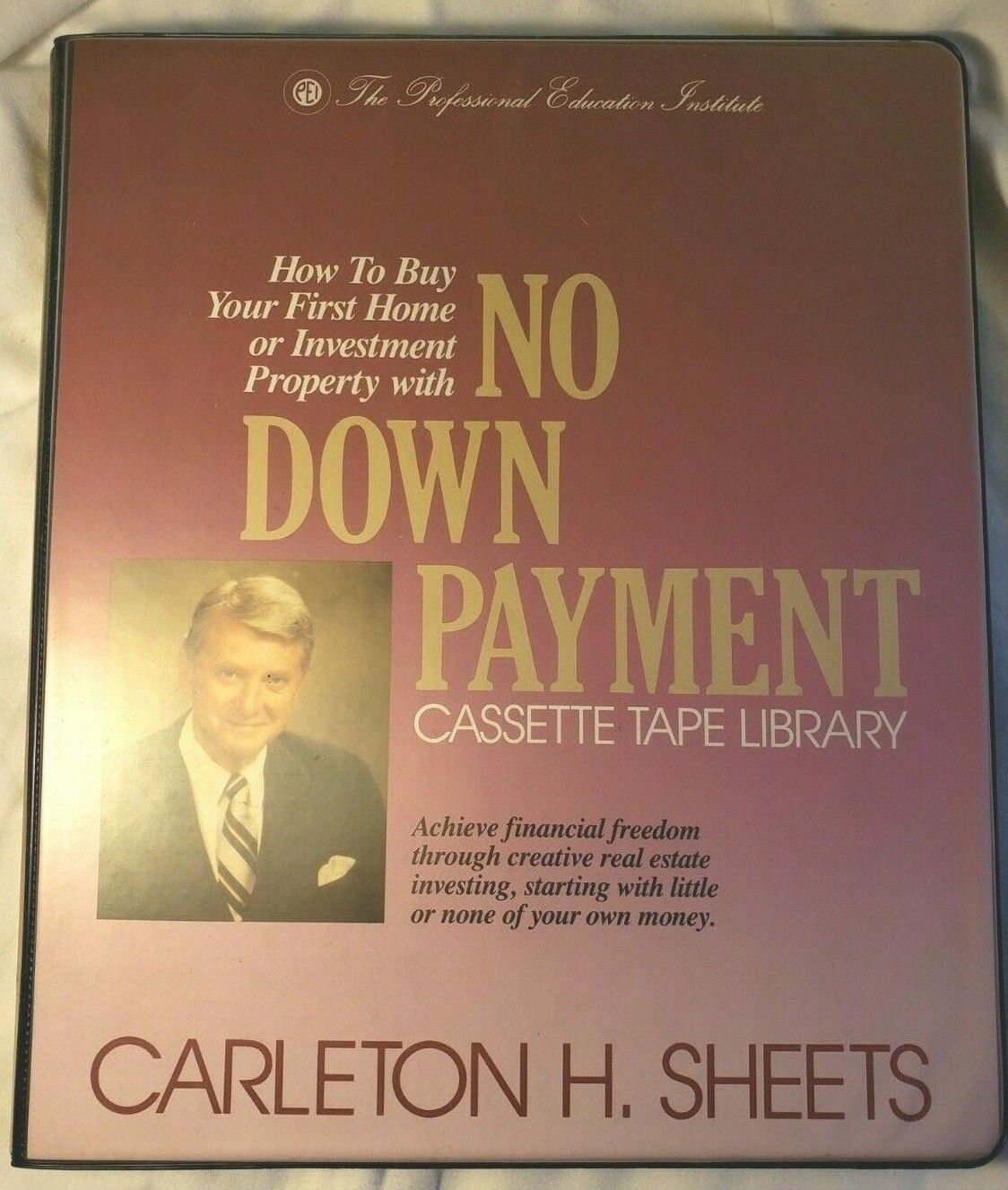 Carleton H. Sheets No Down Payment Course Tapes REAL ESTATE Investing Program - $19.99