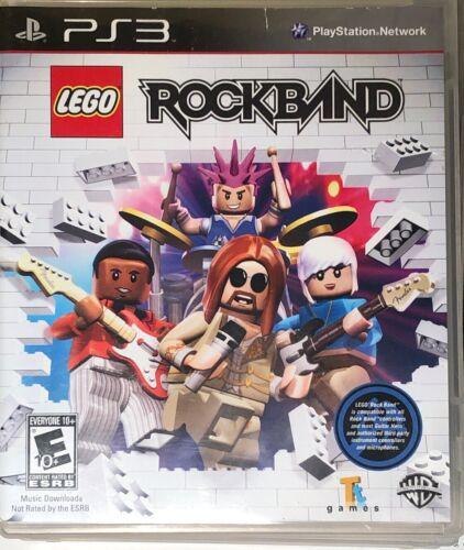 LEGO Rock Band Sony PlayStation 3, 2009  - $0.50