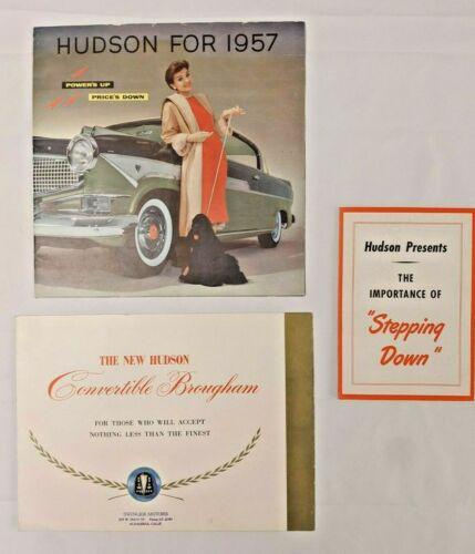 1948 1957 Hudson Hornet Convertible Brougham Brochures Catalog Prospekts