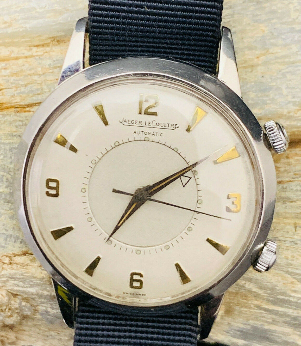 JUMBO VINTAGE MEMOVOX AUTOMATIC P 815 JAEGER LECOULTRE