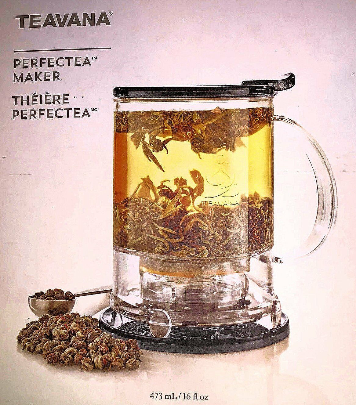 Black Starbucks / Teavana Perfectea Maker: 16oz