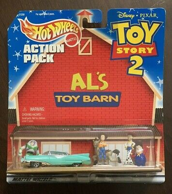 Hot Wheels Action Pack Al's Toy Barn from Disney Toy Story 2 Al's Custom Cruiser