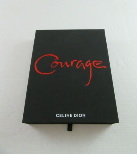 CELINE DION COURAGE WORLD TOUR VIP MERCHANDISE BOX- BRAND NEW & COMPLETE