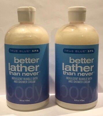 True Blue Spa Better Lather Than Never Indulgent Bubble Bath & Shower Cream (Best Bubble Bath For Women)