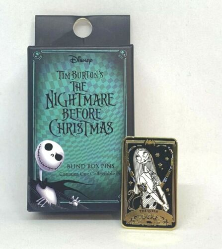 Loungefly Nightmare Before Christmas Blind Box Sally The Queen Tarot Enamel Pin