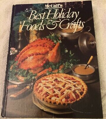MCCALL'S BEST HOLIDAY FOODS AND CRAFTS - VINTAGE BOOK OF CHRISTMAS
