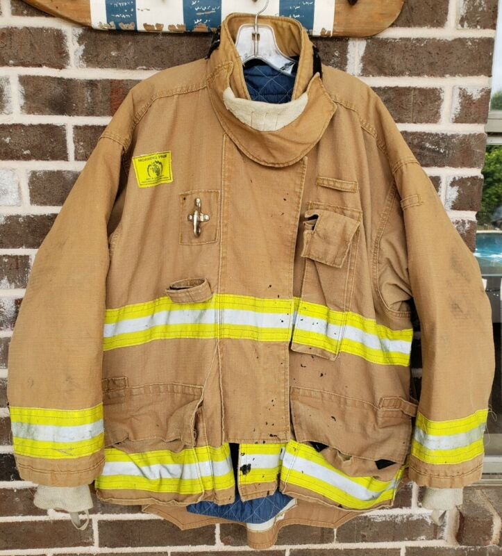 Morning Pride Turnout Bunker Coat Fire Fighting FireFighter Gear 54 X 29/35 USED