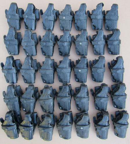 Lot of 35 Safariland 070 20 Basket Weave Holsters