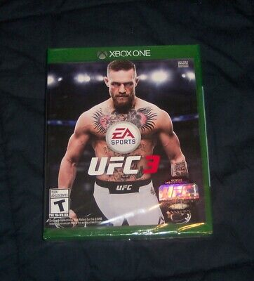 EA Sports UFC 3 (Microsoft Xbox One, 2018) NEW! SEALED! for sale  Shipping to Nigeria