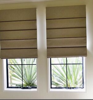 Roman Blinds, Panel Blinds & More! Free Measure & Quote!