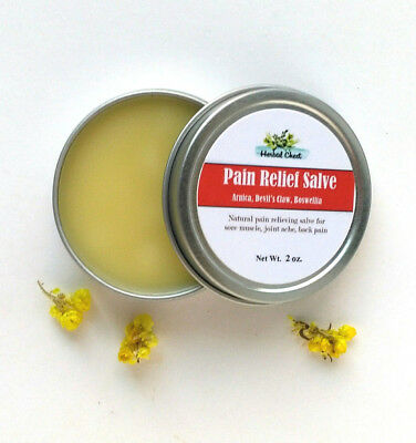 Pain Relief Sore Muscle Rub Balm Cream Joint Knee Back Arnica Boswellia Remedy