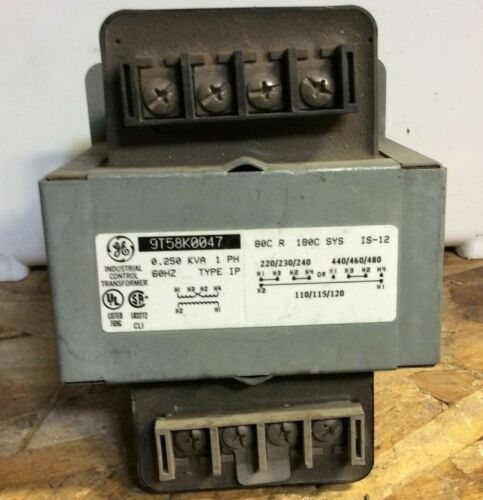 General Electric 9T58K0047 Transformer Used
