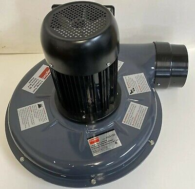 Dayton Electric 2 Stage Commercial Dust Collector Model 3aa18b Cracked Housing