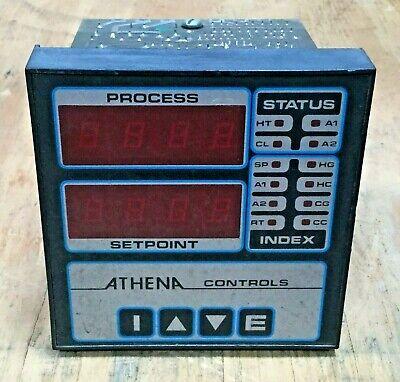 Athena Controls Digital Temperature Control 6000-f-e-2 Temp Controller