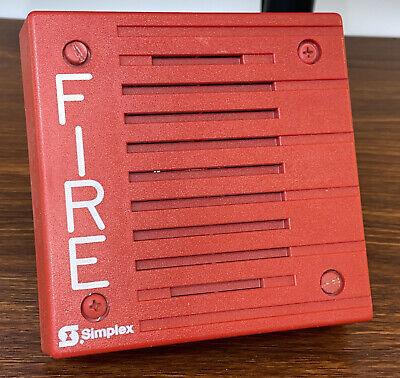 Simplex 4902-9703 Fire Alarm Speaker Red
