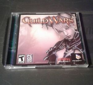 Guild wars 2 disc pc cd rom game 2005 used
