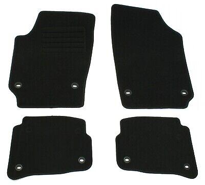 Fußmatten Set für VW Polo 9N 2003-2009 Matten Autoteppiche Passform Set
