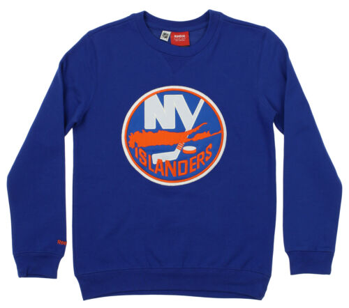 Reebok NHL Youth New York Islanders Prime Crew Neck Fleece,