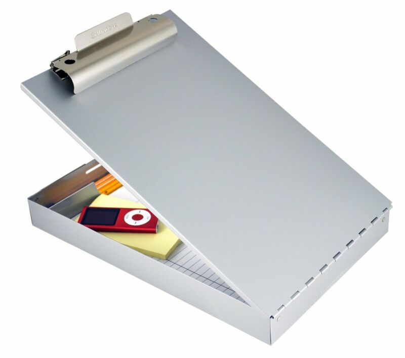 Saunders Recycled Aluminum Redi-Rite™ Storage Clipboard, Legal Size, 8.5 x 14...