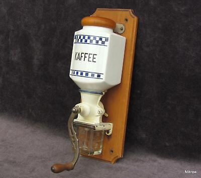 Jugendstil Wandkaffeemühle innen gereinigt, super Erhaltung!!