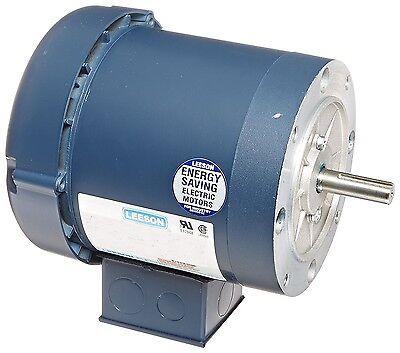 Leeson Electric Motor 110163.00 1/2 HP 1140 Rpm 3PH 208-230/460 Volt 56C Frame