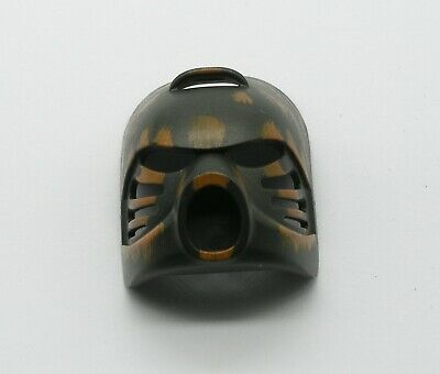 LEGO Bionicle Poisoned Infected Hau Nuva Mask Green Stripe Variant Type #3