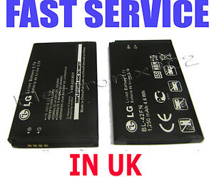 LG-Optimus-Me-P350-C550-Optimus-Chat-BL-42FN-1250mAh-Battery-New-UK