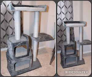 TREEHOUSE SCRATCHING POST AND TOWER- NEW