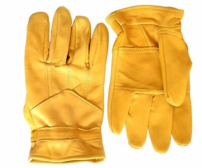 Wholesale Bulk Buy: Pack of 50 Pittards Leather Gardening Gloves - Tan