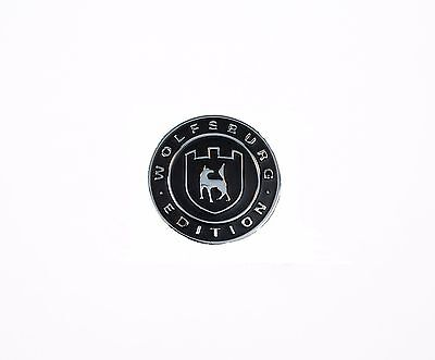 OEM VW Volkswagen Wolfsburg Edition Badge Emblem CC Jetta Tiguan Passat Touareg