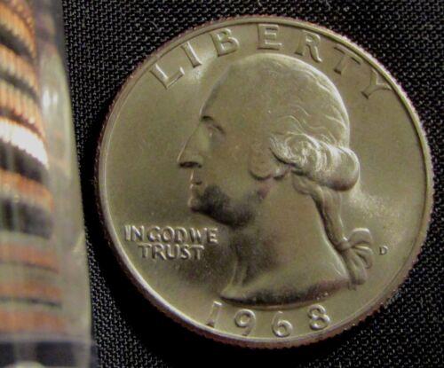1968-D Denver  Mint Washington Quarter BU
