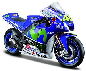 New MotoGP 2016 the DOKTOR Valentino Rossi #46 Yamaha FACTORY RACING 1:18 Maisto