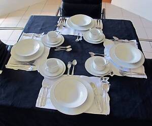 20 PIECE PORCELAIN DINNER SET + 32 P CUTLERY - SOME NEVER USED Redland Bay Redland Area Preview