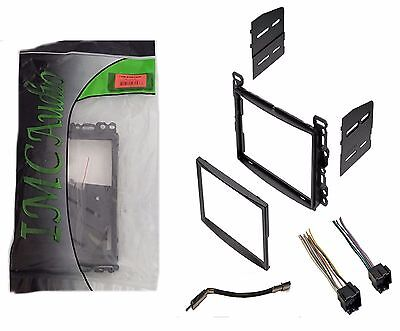 Double Din Dash Kit for After Market Radio Stereo Install Wire Harness Antenna Aftermarket Dash Kits