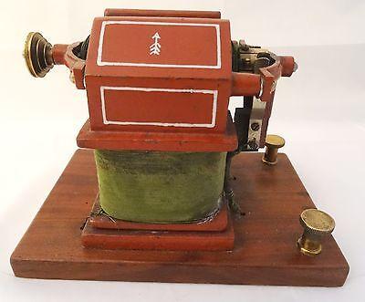 Antiker Transformator Trafo für Dampfmaschinen Rarität Dynamo Generator