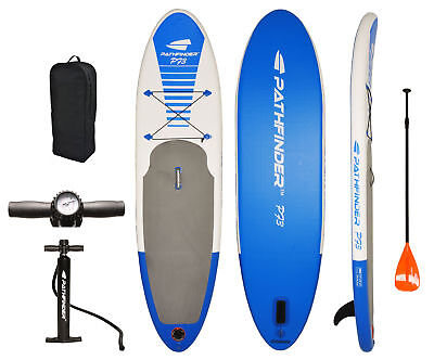 Pathfinder Inflatable Sup Stand Up Paddleboard  9 9   5  Thick
