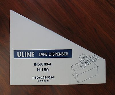 Nib Uline H-150 Industrial 2 Packaging Tape Dispenser Moving Shipping Supplies