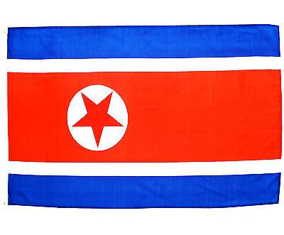 Fahne Nordkorea 90 x 150 cm nordkoreanische Flagge Nationalflagge