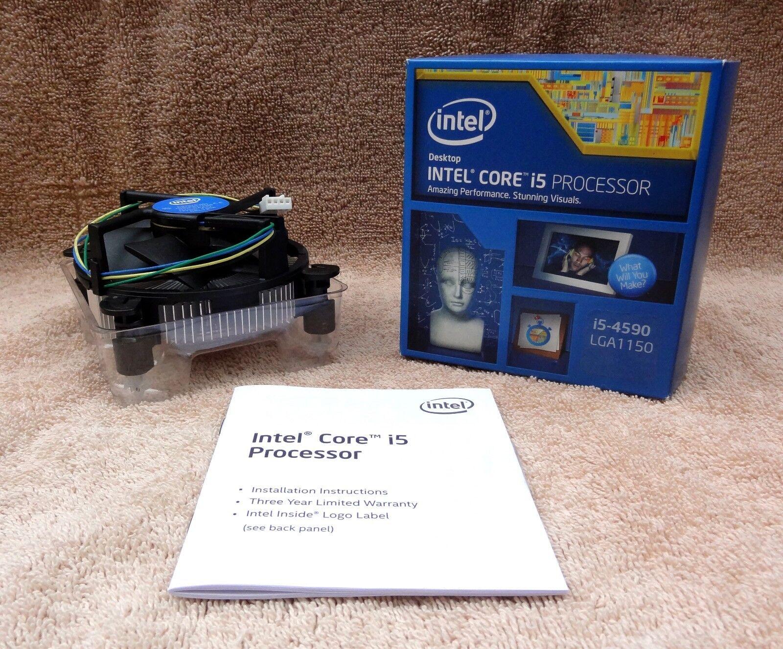 Intel OEM Copper CPU Heatsink Fan Stock Cooler LGA1150 LGA11