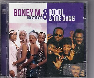 CD : Boney M. & Kool & The Gang - Back To Back (2cd)