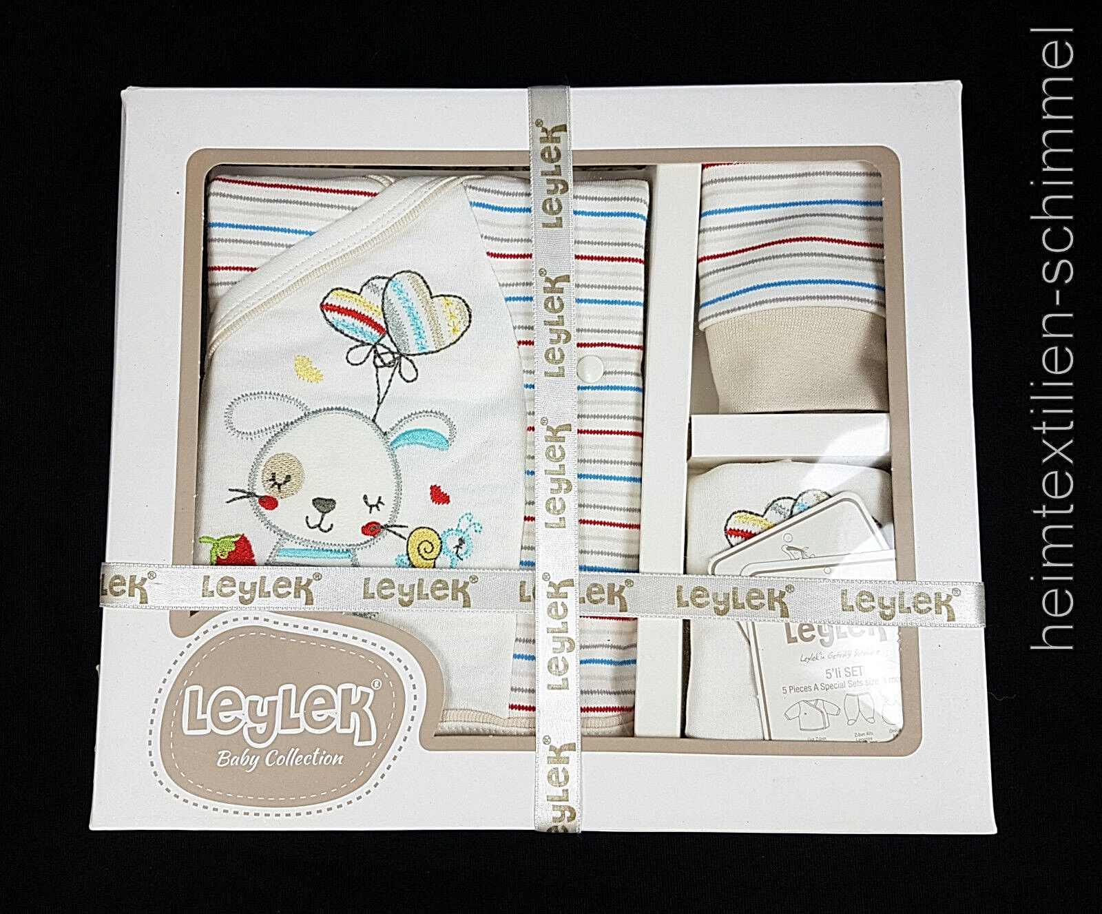LEYLEK® Babybekleidung Baby Erstausstattung Babykleidung Strampler Kleidung SET