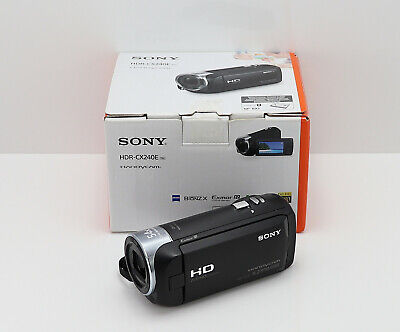 SONY HANDYCAM HDR-CX240E CAMCORDER BOXED HD HIGH DEFINITION VIDEO & 32GB CARD