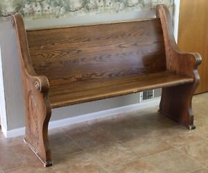 Looking for small church pew