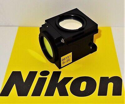 Nikon B-2e Fluorescent Microscope Filter Cube E400 600 Te200300