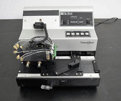 Biotek Nanoquot Microplate Dispenser Liquid Handler Nanoliter Analytical