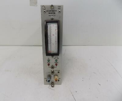 Bently Nevada Eccentricity Monitor Module 7200 Eipp