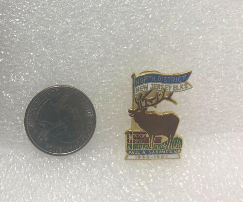 1990-91 BPOE Elks #2111 North District New Jersey Pin
