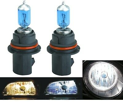 Halogen 9004 HB1 65/45W 5000K White Two Bulbs Head Light Plug Play Replace Dual