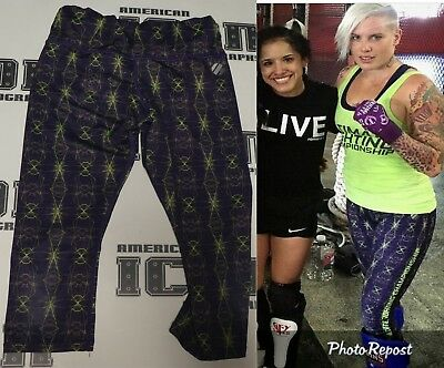 Bec Rawlings Signed Personally Used Worn Tuf 20 Ufc Fight Training Pants Bas Coa