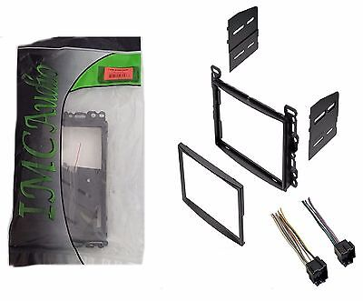 Double Din Dash Kit For After Market Radio Stereo Installation And Wire Harness
